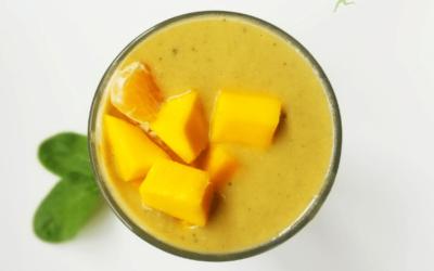 Mango Mandarin Plant-Based Protein Smoothie